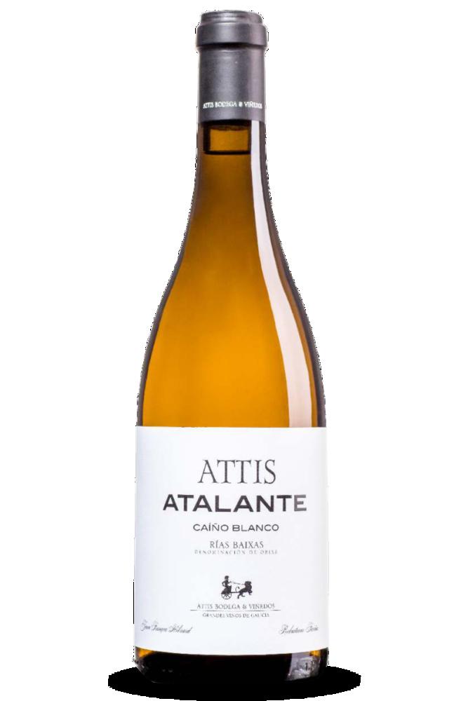 Attis Atalante, D.O. Rías Baixas, de la subzona Val do Salnés. 100% Caiño blanco.
