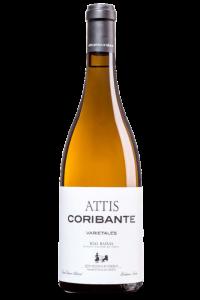 Attis Coribante, D.O. Rías Baixas, de la subzona Val do Salnés. Albariño, caiño y godello.