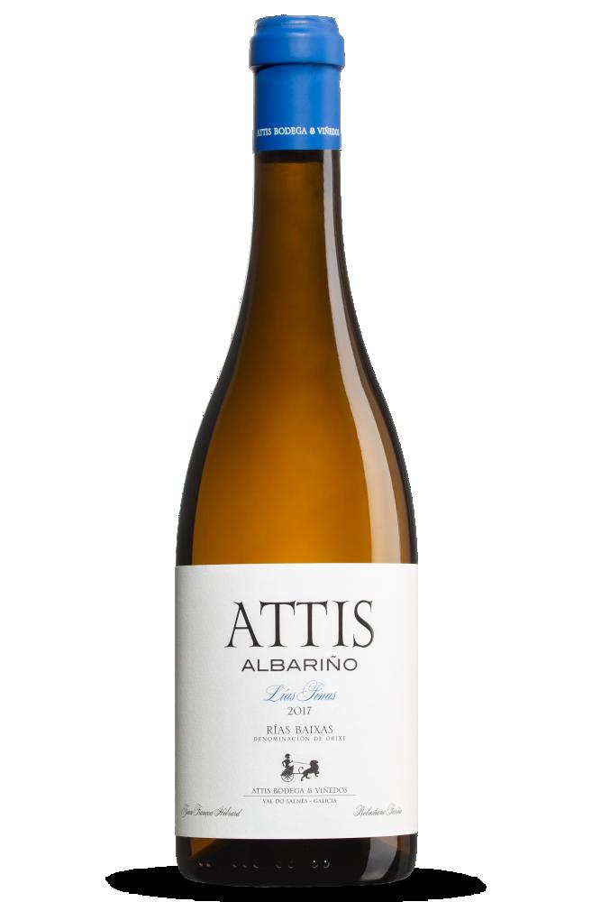 Albariño Attis, D.O. Rías Baixas, de la subzona Val do Salnés