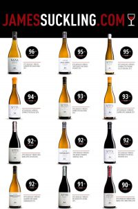 Excelentes puntuaciones obtenidas por nuestros vinos de la mano de James Suckling